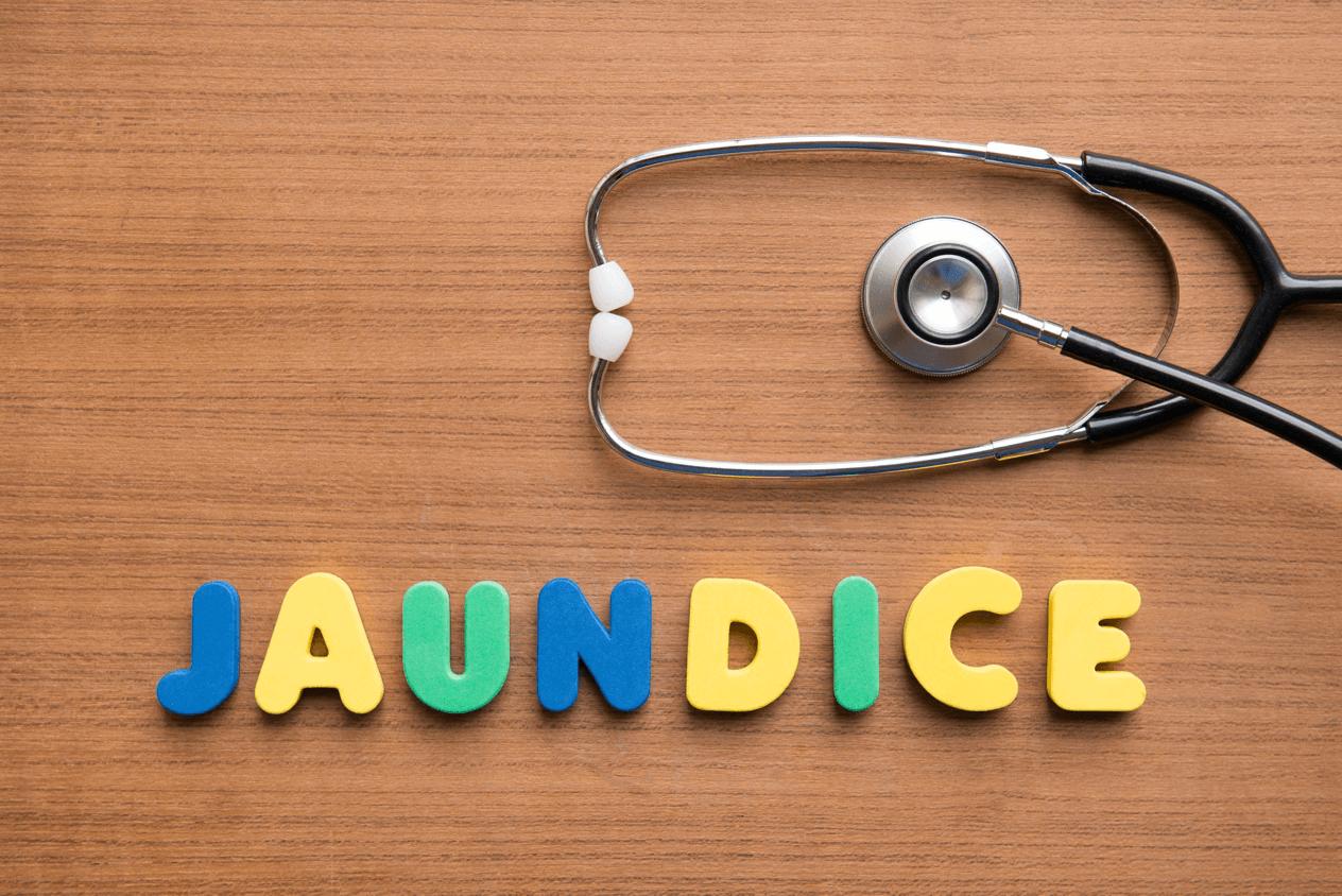 Jaundice (turning yellow)